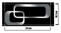 Dekoratif Mobilya Sticker 06A