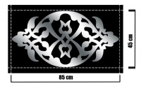 Dekoratif Pleksi Ayna 03C