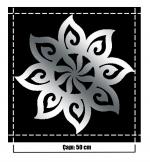 Yapışkanlı Sticker Ayna 08C