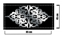 Dekoratif Mobilya Sticker 11C